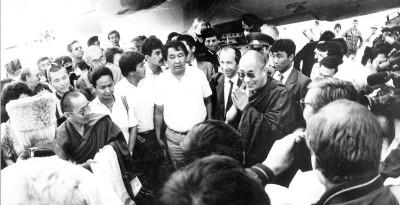 Первый визит Его Святейшества Далай-ламы XIV
