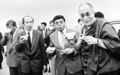 Его Святейшество Далай-лама на калмыцкой земле