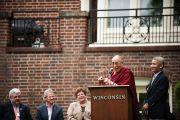 Его Святейшество Далай-лама в Мэдисоне, США
