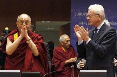 Обращение Его Святейшества Далай-ламы к Европейскому парламенту
