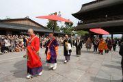 Его Святейшество Далай-лама в храме Дзенкодзи