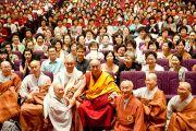 Встреча с 500 корейскими монахами и мирянами. 27 июня 2010