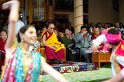 В Дхарамсале отметили 75-летие Далай-ламы