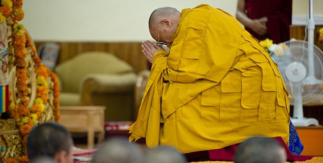 Далай-лама вновь  выразил соболезнования пострадавшим от пожаров в России