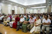 """Аудитория лекции """"Этика нового тысячелетия"""" в Делийском университете. 10 августа 2010"""