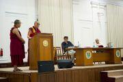 """Лекция """"Этика нового тысячелетия"""" в Делийском университете. 10 августа 2010"""