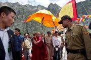 Прибытие в Джиспу, Химачал Прадеш, 18 августа 2010