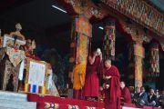Его Святейшество в в монастыре Сера в Билакуппе, штат Карнатака, Индия. 1 сентября 2010