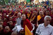Гости церемонии открытия монастыря Дорзонг  Тубтен Донгак Рабгьял Чолинг 12 сентября 2010. Фото: Магюэль Бауэр