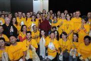 Аудиенция для волонтеров, помогавших организовать визит, Будапешт, Венгрия, 19 сентября 2010 г.