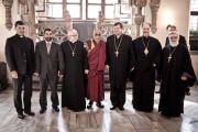 Его Святейшество Далай-лама на встрече с главами разных конфессий, Вроцлав, Польша, 23 сентября 2010 г.