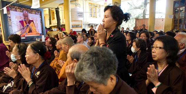 В Дхарамсале завершились учения для буддистов из Тайваня