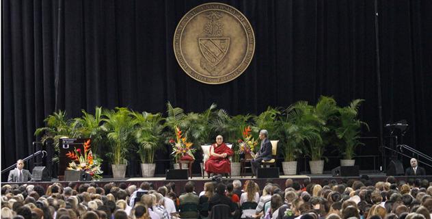 Далай-лама выступил с публичными лекциями в Майами