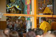 Учения Его Святейшества Далай-ламы для тайваньских буддистов и всех собравшихся в главном храме Дхарамсалы.  5 октября 2010