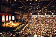 Визит Его Святейшества Далай-ламы в Сан-Хосе, Калифорния, 13 октября 2010 г.