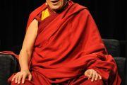 """Далай-лама на вручении премии """"Проводник свободы"""", Цинциннати, штат Огайо, 20 октября 2010 г."""