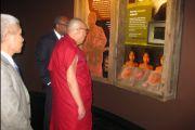 Далай-лама в Международном центре свободы «Подпольная железная дорога», Цинциннати, штат Огайо, 20 октября 2010 г.
