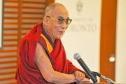 Его Святейшество Далай-лама в университете Торонто, 22 октября 2010 г.