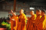 Далай-лама на церемонии открытия тибетско-канадского культурного центра в Торонто, 23 октября 2010 г.