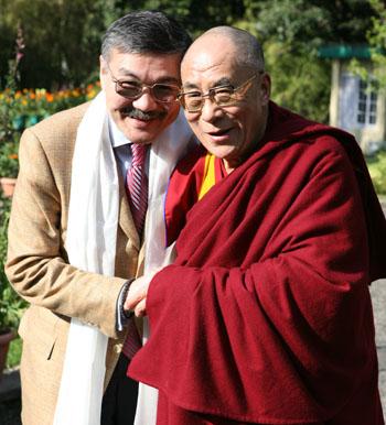 Алексей Орлов «приложит все усилия» для организации визита Далай-ламы в Калмыкию