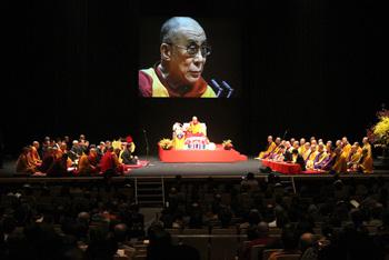 Его Святейшество Далай-лама прибыл в Хиросиму