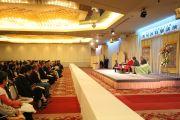 Конференц-зал, в котором проходила беседа Далай-ламы с Кеничиро Моги. Ниихама, 9 ноября 2010 г.