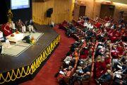 """Зал заседаний в India Habitat Center во время XXII конференции под эгидой института """"Ум и жизнь"""". Нью-Дели, 21 ноября. Фото: Тензин Чойджор, ОЕСДЛ"""