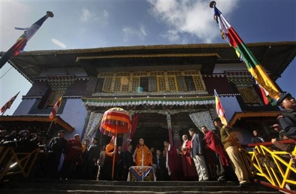Далай-лама прибыл в Сикким с восьмидневным визитом
