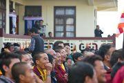 На учениях Его Святейшества Далай-ламы в монастыре Тхарпа Чолинг в Калимпонге, Индия. 13 декабря 2010.Фото: Тензин Чойджор (Офис ЕСДЛ)