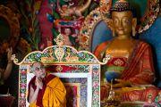 Его Святейшество Далай-лама в монастыре Мани Чокор Линг в Равангле, Сикким, Индия, 19 декабря 2010. Фото Тензин Чойджор (Офис ЕСДЛ)