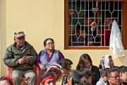 Во время учений Его Святейшества Далай-ламы в Салугаре, Западная Бенгалия, 23 декабря 2010. Фото Тензин Чойджор (Офис ЕСДЛ)