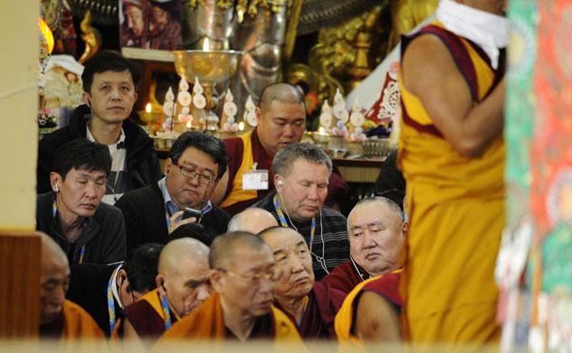 Кенсур Чойдоржи Будаев: «Просто мы давно не видели Далай-ламу…»