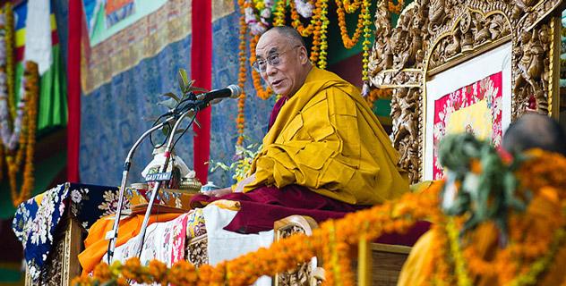 Прямая трансляция. Учения Далай-ламы в Сарнатхе