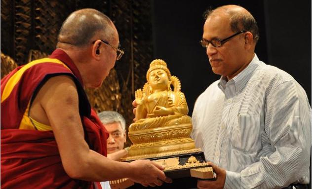 Его Святейшество Далай-лама выступил с лекцией в Гоа