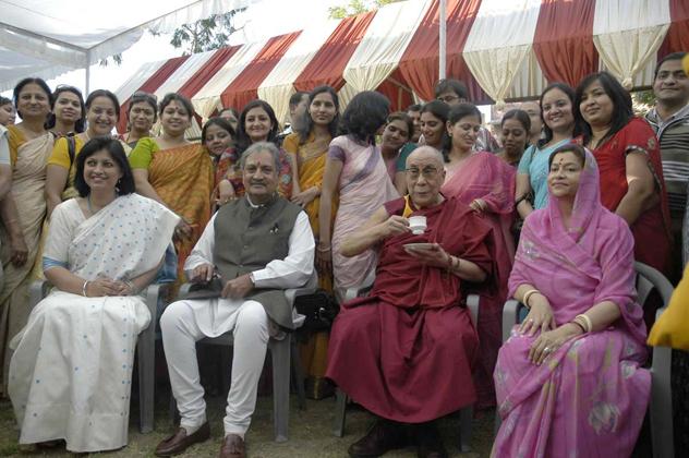 Далай-лама нашел верный тон в общении со студентами