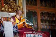 Заключительный день учений Его Святейшества Далай-ламы в монастыре Дрепунг лачи, Мандгод, Индия. 3 февраля 2011. Фото: Тензин Чойджор (Офис ЕСДЛ)
