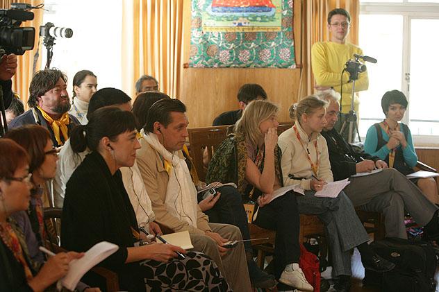 Далай-лама: пресс-конференция для российских СМИ - 2010