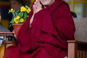 Тибетцы и их сторонники на торжественном мероприятии по случаю 52-й годовщины Тибетского народного восстания. Дхарамсала, Индия. 10 марта 2011