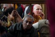 На учениях по Джатакам Его Святейшества Далай-ламы. Дхрамасала, Индия. 19 марта 2011. Фото: Тензин Чойджор (Офис ЕСДЛ)