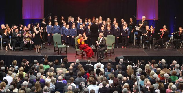 В Лимерике Далай-лама говорил о прощении