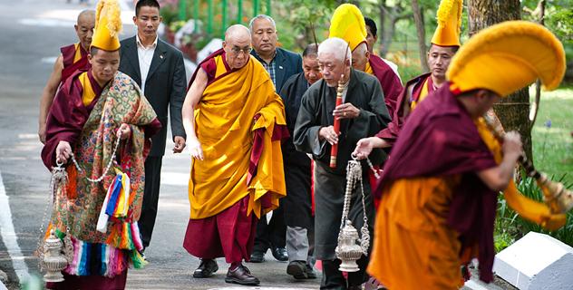 Центральная тибетская администрация провела молебен о долголетии Его Святейшества Далай-ламы