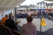 Школьники Кильдэра организовали концерт в честь приезда Его Святейшества Далай-ламы. Кильдэр, Ирландия. 13 апреля 2011. Фото: Тензин Такла (Офис ЕСДЛ)