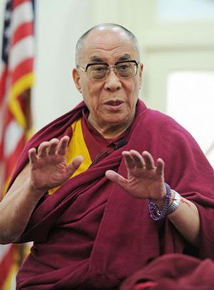 Далай-лама провел пресс-конференцию для журналистов в Ньюарке