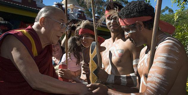 Далай-лама торжественно открыл «Сад просветления» в Саншайн Коаст, Квинсленд