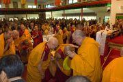 Его Святейшество Далай-лама в Институте Ченрези. Саншайн Коаст, Австралия. 16 июня 2011. Фото: Rusty Stewart/DLAIL