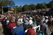 Лекцию Его Святейшества Далай-ламы в Институте Ченрези слушали более 3500 человек. Саншайн Коаст, Австралия. 16 июня 2011. Фото: Rusty Stewart/DLAIL