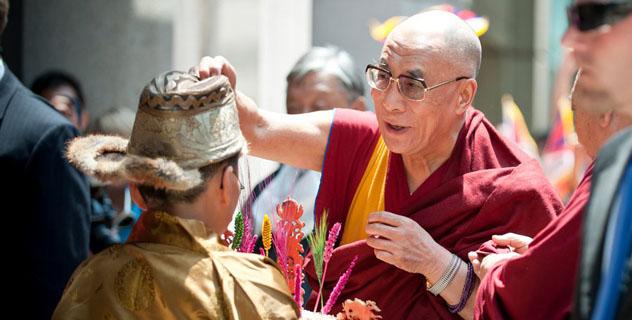 Его Святейшество Далай-лама прибыл в Вашингтон