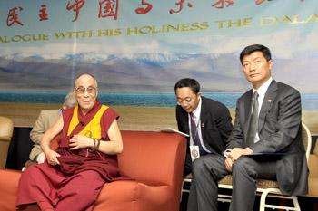 Его Святейшество Далай-лама выступил на конференции о будущем отношений между Тибетом и Китаем