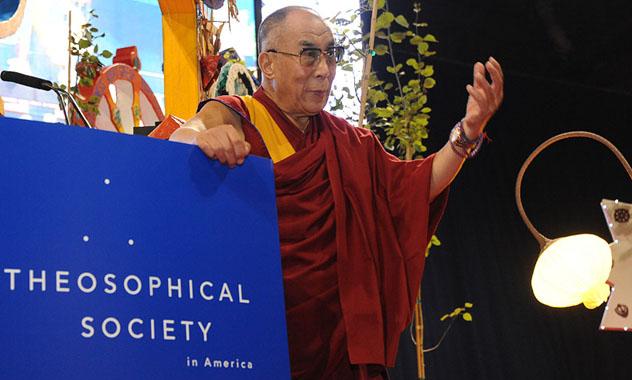 Картинки по запросу Далай-лама в Теософском обществе Америки