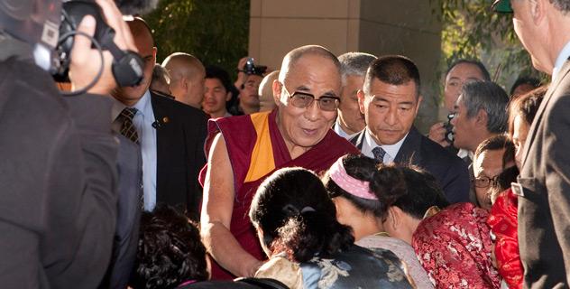 Его Святейшество Далай-лама прибыл в Женеву